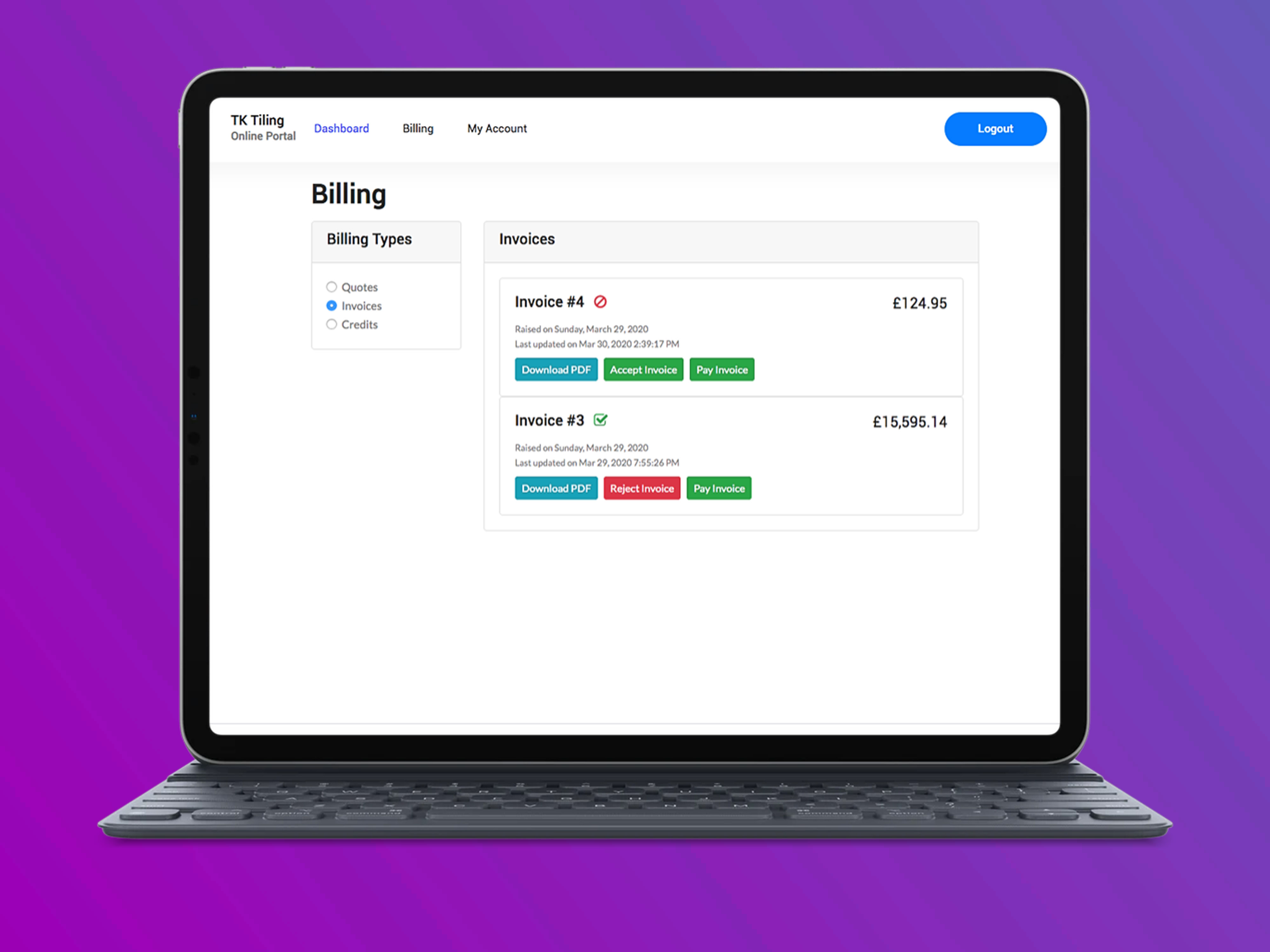 Customer Portal | Servu