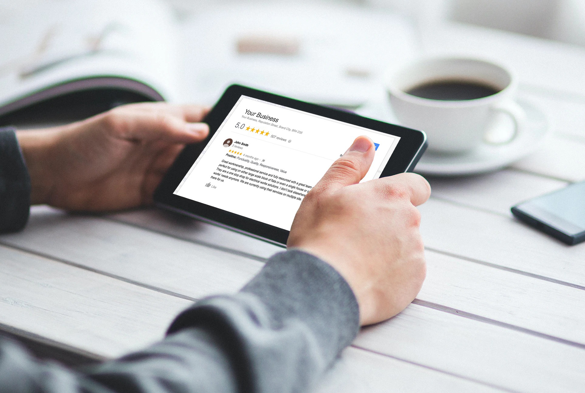 Get more online reviews for your local business | Servu