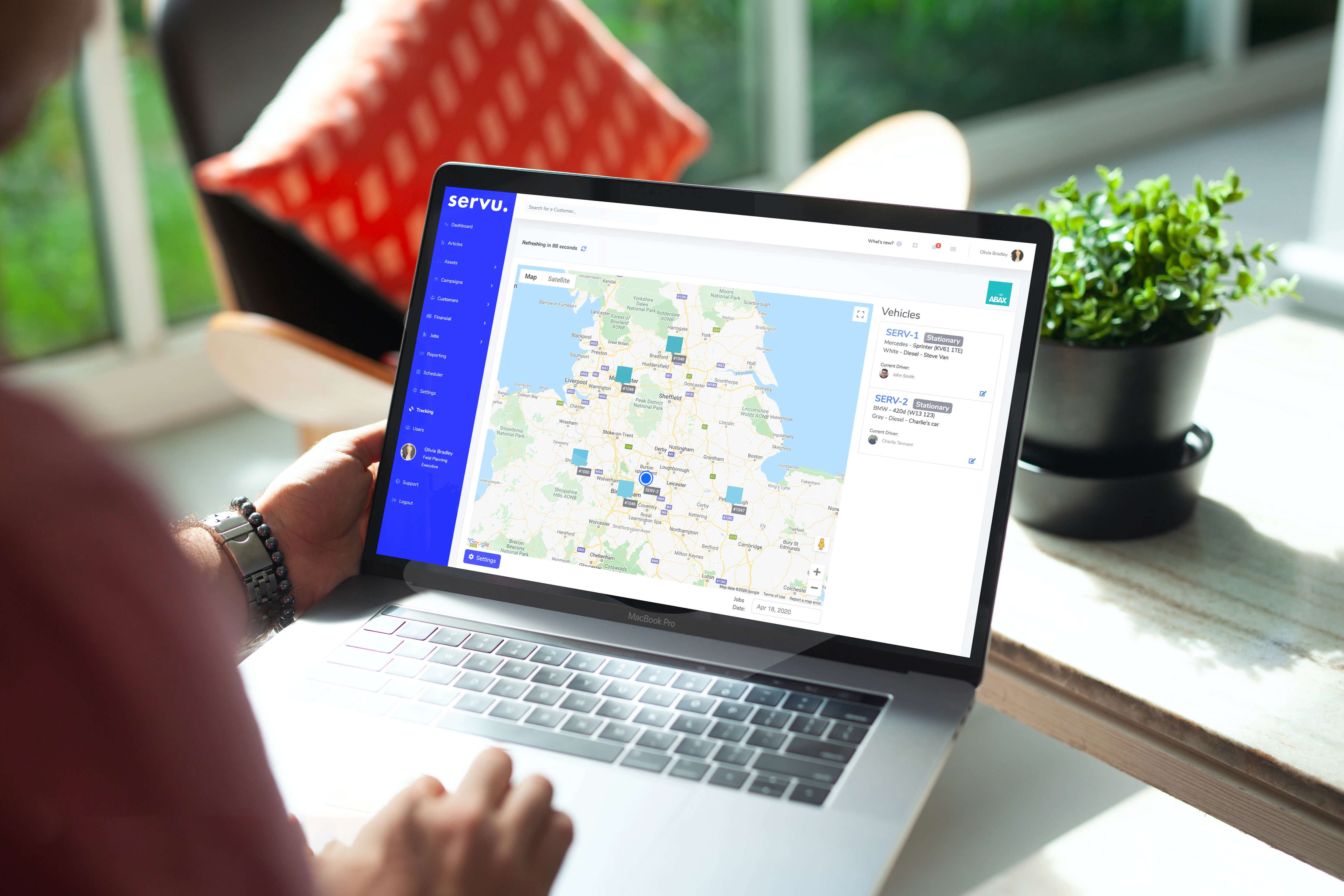 GPS Tracking | Servu